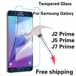 Wholesale Ace Screen - tempered glass screen protector film for Samsung s7 edge J2-ACE J210-2016 J2-PRO J2-prime J3 Emerge J3110 J310-2016 J3-PRO J3-2017 J3-prime
