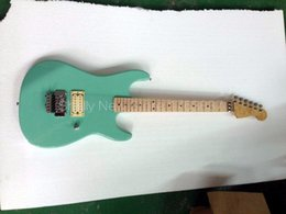 Wholesale Guitar Old - Wholesale-Shelly new store factory custom green old used vintage relic faded flame maple neck electric guitars musical instruments shop