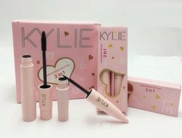 Wholesale 2in1 Eyeliner - New Kylie 2017 Birthday Edition Mascara Eyeliner 2in1 set Anniversary Edition Black Color By Kylie Cosmetics DHL shipping