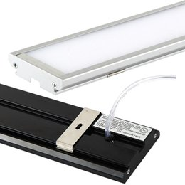 Wholesale Panel Mounted Switches - Dust-proof Led ceiling lights 18W 4ft 120cm 2000Lm AC85-265V Warm Cool White Ultra thin rectangle panel light batten tube surface mounted