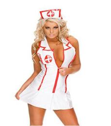 sexy pack chaud Promotion Lingerie sexy sexy jupe uniforme d'infirmière séduction pack cosplay infirmières club rôle play livraison gratuite