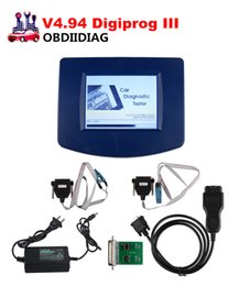 Wholesale Odometer Correction Gm - Newest V4.94 Digiprog III Odometer Programmer With OBD2 ST01 ST04 Cable Digiprog3 Mileage Change Tool DHL Free shipping