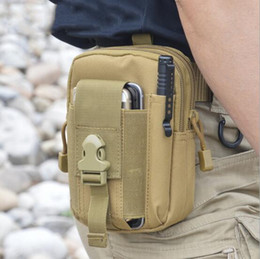 Wholesale Purses Water Resistant - Wallet Pouch Purse Phone Case Outdoor Tactical Holster Military Molle Hip Waist Belt Bag with Zipper for iPhone Samsung