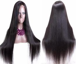 Pelucas de mejor calidad barata online-El mejor precio barato de la calidad del pelo para la peluca de los mayoristas sedoso directo de la virgen del pelo humano brasileño de seda superior peluca delantera del cordón del envío libre