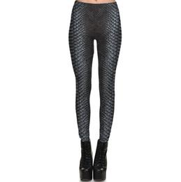 Leggings de ginásio padrão on-line-Calça de pele de serpente Cobra de cobra apertada Roupa de ginástica feminina Leggings sport wear Treino de fitness sportwear Calças de exercício