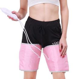 Wholesale Legging Belt - FIR Far Infrared Sauna Blanket Weight Loss leg Slimming Belt vibrating leg massager