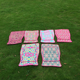 Wholesale Carpet Car - Rose Neoprene Car Mat Set LLY Floral Floor Mat Flower Carpet Mat for Car Full Set Car Accessories DOM106496