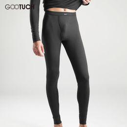 Wholesale Men Underwear Long Johns - Brand Mens Thermal Underwear Winter Modal Long Johns 4XL 5XL 6XL Tights Warm Pijama Pants Gootuch 2443