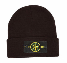 Wholesale Casual Winter Ball Caps - 2017 new STONE NEW MAN Wool Hat ISLAND Jacket Hat BEANIE