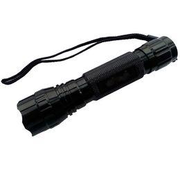 Rote grüne blaue fackel online-1-Mode Hunt Taschenlampe Cree Q5 rot / grün / blau / weiß Licht LED-Taschenlampe mit Halterungen, Batterie, Ladegerät, Fernschalter