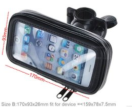 Wholesale Waterproof E4 - Touch Screen Waterproof Bicycle Bike Mobile Phone Cases Bags Holders Stands For Motorola Moto Z2 Play G5S Plus E4 Plus,Meizu E2,ZTE Axon 7s