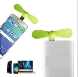 банки оптовых телефонов Скидка Wholesale- 2 in 1 Mini Cool Portable Power Bank USB Fan Micro USB fans Gadgets Tester For Xiaomi HTX android mobile phone 18650 Powerbank