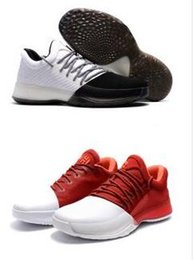 Wholesale Increasing Muscle Size - drop shipping James Harden 1 vol.1 gold black whte red home AAAA basketball shoes wholesale size 7 12 sneaker boost 2016 new arrive