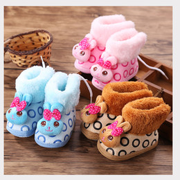 Wholesale Crochet Models - Newborns for the first time the pacers boys and girls dolphin model on soft non-slip soles soft cotton cloth shoes baby walking shoes