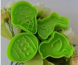 Wholesale Egg Biscuit - Wholesale- Baking mould 3d three-dimensional spring biscuit mould easter eggs rabbit cookie mold