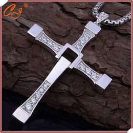 Wholesale Holy Pendants - Fast and Furious Necklace, Man Cross Necklace, Man Praying Holy Article Dominic Toretto Jesus Necklace