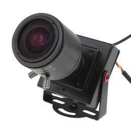 Wholesale Cmos 12mm - 2.8-12mm Manual Lens Mini HD 700TVL 1 3 CMOS Security Audio Video Color CCTV Camera CCT_535
