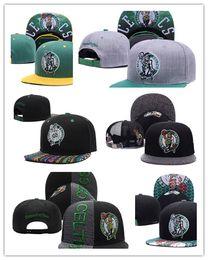 Wholesale Snapbacks Boston - Top Sale 2017 newest wholesale Boston Adjustable Celtics Snapback Hat Thousands Hat For Men Basketball Cheap Hat men women Baseball Cap