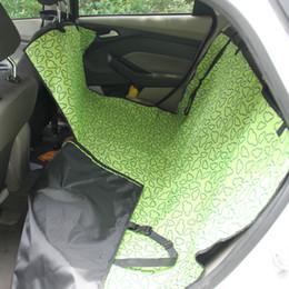 2019 fuente de alimentación de bolsillo Cubierta del asiento trasero del coche auto Pet Cat Cat Mat Hamaca Pet Carrier Safety Waterproof Alfombrillas del coche Dog Protector de la huella 130x150 x55cm