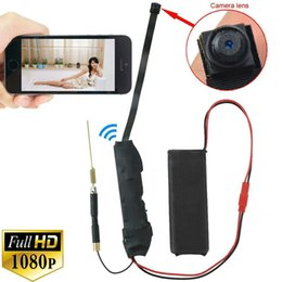 Wholesale hidden camera wifi hd - Full HD 1920*1080P PCB Hidden Camera WiFi IP P2P Camera CCTV Detector PCB Wifi DIY Spy Camera P2P to smartphone and tablet PC Cam PQ198