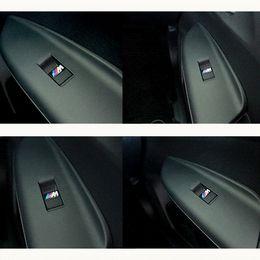 Wholesale Bmw Wheel E39 - New Car styling small Decorative Badge Hub caps Steering wheel case for E39 E36 E60 E90 E34 BMW E46 Car Emblem Sticker