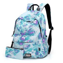 Wholesale Vintage Preppy Backpacks For Girls - Wholesale- 2017 Women Backpack for School Teenagers Girls Vintage Stylish School Bag Ladies Backpack Female Purple Back Pack High Quality