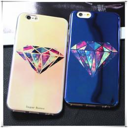 Wholesale Iphone Case Cut - Anti Blue Laser Reflective Soft TPU Phone Case Cut Cartoon Back Cover for iPhone 8 7 6s 6 5s 5e