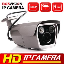 Wholesale Waterproof Camera Ir Mobile - 1080P 2MP PoE IP Camera Outdoor Network CCTV IR Bullet Camera Mobile APP View Outdoor Waterproof 4X Zoom VariFocal 2.8-12mm Lens