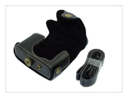 Wholesale Vintage Camera Cases - Retro Vintage Leather Camera Case For Canon Powershot G15 G16 PU Leather Camera Bag Coffee Black Brown