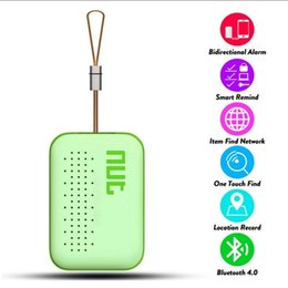 2019 spionagegeräte Hot Nut 3 mini Smart Tag GPS Tracker Bluetooth Schlüsselsucher Locator Sensor Alarm Anti Verloren Brieftasche Haustier Kind Locator