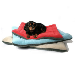 Wholesale Cage Crate - High Grade Soft Polar Fleece Cozy Pet Dog Crate Mat Kennel Cage Pad Bed Pet Cushion mats kennels 6 Colors p99