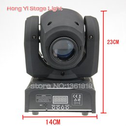 Wholesale Moving Head Gobo - Wholesale- 30w led spot moving head gobo spot light DMX512 moving head spot light 30w DJ light equipment