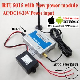 Wholesale Sms Gate Control - Wholesale- Free shipping New AC24V Power moule with RTU5015 GSM Gate Door Opener with SMS Remote Control Updated App support