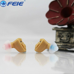 Wholesale Deaf Hearing Aid - Small Hearing Aids Mini Earphones Headset Cheap Products Hearing Aid Amplifiers Volume Adjustable for the Ear Deaf Elderly