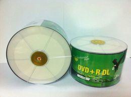 Wholesale Dvd Disc Dl - banana can print D9 DVD + R DL 8.5 G burn disc disc blank CD 8x Plastic packaging 50pcs lot