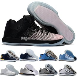 Wholesale California Leather - High Quality Retro 31 Low Mens Basketball Shoes Cheap Retros XXXI California Michigan Marquette Georgetown 31s Sport Trainer Men Sneakers