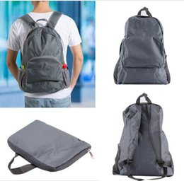 Wholesale Foldable Portable Table - Outdoor travel Sport 30L Nylon Foldable Portable Zipper Travel Hiking Backpack Outdoor Shoulder Bags free shipping