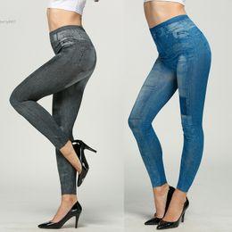Wholesale Tight Leggings For Women - 2017 Designer jeans for women clothing Fashion Jeggings Stretch Skinny Leggings Tights Leg wear Pencil Pants
