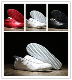 Wholesale Breathing Trainer - Hot Sale 2017 Tiger leisure sports Breathe Men's Women's Running Shoes Cheap Breathable Casual Walking Designer Trainers Shoes 36-45