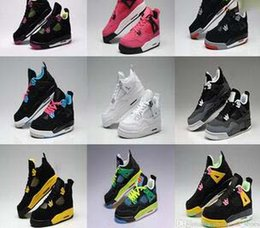 Wholesale Dark Pack - Wholesale Basketball Shoes retro IV 4 FEAR PACK Black Cool Grey Stealth Oreo Royalty White Cement 4s New arrival sneakers Trainer