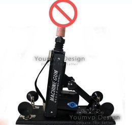 metralhadoras adultas do sexo Desconto Nova chegada Automático Ajustável Multifuncional máquina de sexo sexo arma masturbação feminina máquina de brinquedos adultos DHL Livre