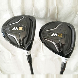 Wholesale Golf Clubs Fairway Woods - New Golf clubs M2 Golf fairway wood 3 15 5 18 loft wood clubs Graphite shaft R or S flex Free shipping