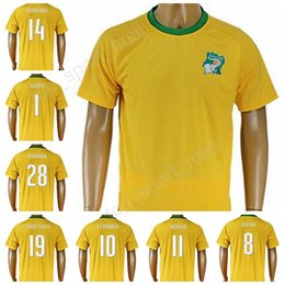 Wholesale Custom Soccer Jerseys Uniforms - 2017 Cote dIvoire Soccer Jersey Ivory Coast 11 Didier Drogba Football Shirt Uniforms Kits Custom Thailand 8 KALOU 10 GERVINHO 19 TOURE YAYA