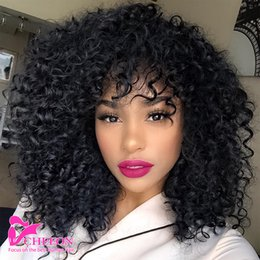 Wholesale Curly Virgin Hair Bundle Deals - 8A grade Brazilian Virgin Hair kinky curly 3 bundle deals Unprocessed human hair weave curly hair extensions Natural black can be dyed