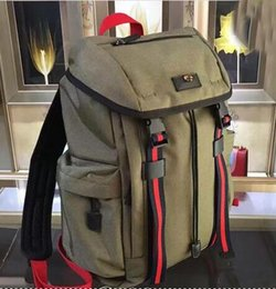 Wholesale Designer Books - blue 429037 Techpack with embroidery luxury designer travel bag 223705 man backpack shoulder bags book bag 41048 large m56708 m51135 m61105
