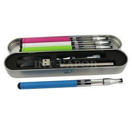Canada stylo vape coloré avec cartouche de réservoir d'huile en verre et 280mah stylet o stylo batterie kit vaporisateur en verre 510 vaporisateur d'huile hot-03 Offre