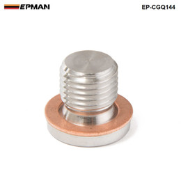 Wholesale motorcycle sensor - EPMAN-M12 x 1.25mm Oxygen o2 Lambda Sensor blanking Plug Cap Bang motorcycles and cars EP-CGQ144