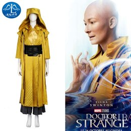 Wholesale Women Costumes Doctor - Doctor Strange Master Ancient One Cosplay Costume Full Suit