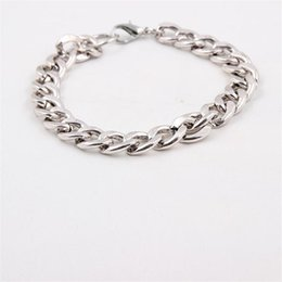 Wholesale High End Fashion Jewelry - Men Bracelet Fashion Simple And Elegant Fine Jewelry Personality Stainless Steel Men High - End Sideways Side Deduction Bracelets