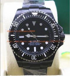 Wholesale Watch Men Chronometer - Factory Shop Luxury AAA Mens Ceramic Bezel Automatic luminous Watch Men Black Pvd 116660 Black Gmt Basel II Sapphire Fair Chronometer Date D